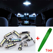 LED Kit 14pcs Interior White Error Free SMD Canbus For BMW 5 Series E60 E61 ML