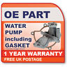 KCP1947 KEY PARTS WATER PUMP W/GASKET (Vauxhall Astra G 1.7 10/00-)