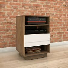 Nexera 1-Drawer Audio Tower - 105240 Audio Cabinet NEW