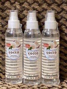 X3 Perlier Italian Sorbet Coco Coconut Body Water 5 Ounce Bottle  Made in Italy