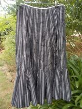 Unbranded Cotton Blend Striped Skirts for Women