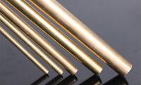 H59 Brass Round Rod Bar Solid Lathe Bar Cutting Tool Metal Diameter 1-14MM