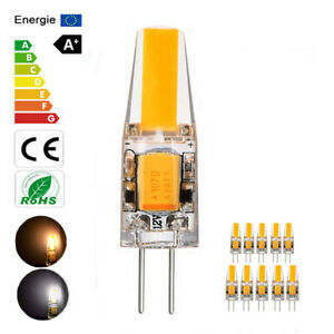 3W 6W Light G4 LED COB 12V AC/DC Dimmable High Quality Lamp Bulb White/Warm