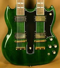 Gibson Custom EDS-1275 Iguana Green Mid 60's Double Neck Electric Guitar