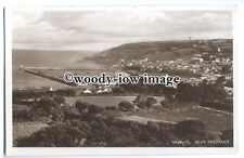 tq0179  - Cornwall - General View across Fields to Newlyn Harbour - Postcard