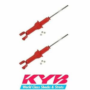 KYB AGX Rear Shock Absorbers Kit Fits Acura Integra 1994 to 2001 - 741007