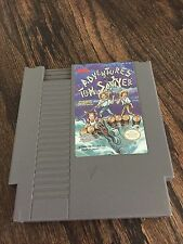 Adventures Of Tom Sawyer Original Nintendo NES Cart NE2