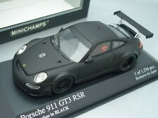 1/43 Minichamps PORSCHE 911 GT3 RSR - HOMOLOGATION IN BLACK