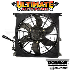 A/C Condenser Cooling Fan (1.9L 4 Cylinder) for 96-99 BMW 318i 318is 318ti