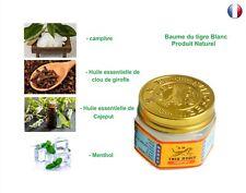 Baume du tigre Blanc 19 g- Crème de massage - Produit Naturel