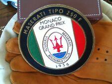 Maserati 250F patch badge emblem logo script spyder GT quattroporte ghibli bora