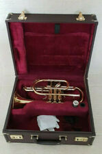 More details for cornet besson 928 sovereign in bb in gold courtois paris mouthpiece & hard case
