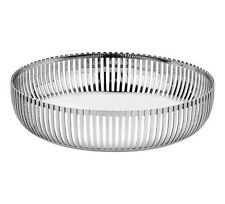 Alessi - PCH02/15 - basket in 18/10 stainless steel mirror polished.