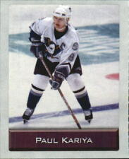 2003 NHL Sticker Collection Anaheim Ducks Hockey Card #153 Paul Kariya