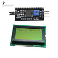 IIC/I2C/SPI Serial 5V 12864 LCD Display 128x64 Yellow green 1602LCD for Arduino