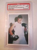 2003 MUHAMMAD ALI JP SPORTING COLL. #4 BOXING CARD PSA GRADED 9 MINT