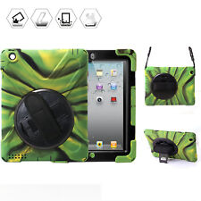 Men Camo Protective Shell Skin For Ipad 2 3 4 Shockproof Case Cover with Stand