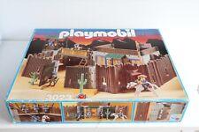 playmobil vintage setnr. 3023 cowboys, fort eagle, fortress, fuerte, φρούριο