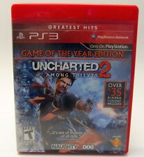 Uncharted 2: Among Thieves -- Game of the Year (Sony PlayStation 3) Greatest Hit