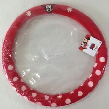 """Mickey Mouse Minnie Mouse Car Accessorie Plush Steering Wheel Cover 36.5"""" - 38"""""""