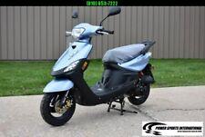2020 Aeolus Linhai 50V Yamaha Jog Scooter Metallic Blue #0042 eBay Special!