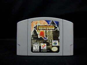 Nintendo 64 Castlevania Game Cartridge Tested Works