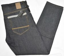 Sean John Jeans Men's 36x32 Mercer Slim Straight Denim Raw Indigo Urban N926