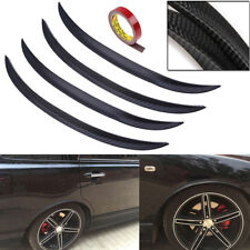 4pcs-42cm Carbon Fiber Trim Fender Flare Protector Car Auto Wheel Body Lip Decor