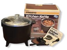 NOS 1989 Presto 06000 6-Qt Kitchen Kettle Multi-Cooker Cast Aluminum Non-Stick