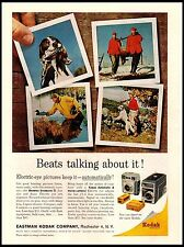 1962 Kodak Brownie Starmatic 2 Movie camera Hunting Vintage Print Ad