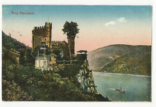 Germany - Burg Rheinstein - 1900's pictorial card