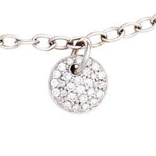 Armband 585 Gold Wei�Ÿgold 29 Diamanten Brillanten 18,5 cm Wei�Ÿgoldarmband