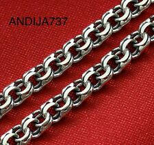 """EXTRA LARGE RUSSIAN ORTHODOX STERLING SILVER 925 DARK CHAIN. BISMARK 70cm, 27.5"""""""