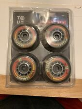 True Inline Hockey Wheels 72mm 82A Roller Skates (14040P4)