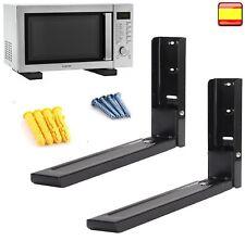 Soporte de pared para microondas cocinas escuadra de montaje equipo de audio