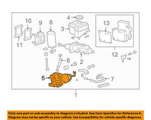 Hummer GM OEM 08-09 H2-Power Brake Booster 25826181