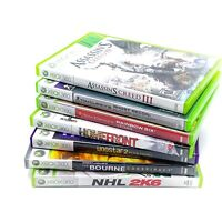 Lot Of 7 Xbox 360 Games Asassin's Creed III HOMEFRONT NHL 2k6