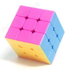 Professional Colorful Magic Cube Speed Twist Puzzle 3x3x3 Brain Game Kids Toy
