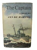 1966 THE CAPTAIN, by Jan De Hartog Vintage Hardcover w/DJ 1st Edition