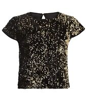 Milly Sequin Baby Tee Size (10A12)