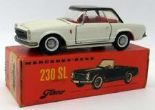 Tekno 1/43 Scale Vintage Diecast- 929 Mercedes Benz 230 SL White + Original Box