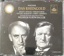 WAGNER DAS RHEINGOLD 2-CD WILHELM FURTWÄNGLER FATBOX URANIA 2000 ITALIAN