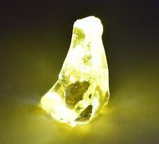 253 Ct Ggl Certified  Natural Yellow Sapphire Rough Sri Lanka Pukhraj Gemstone