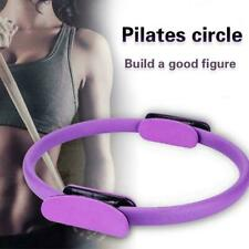 Pilates Double Handle Ring Dual Grip Exercise Circle A1O9