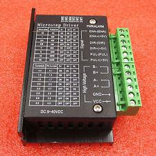 4A Tb6600 Stepper Motor Driver Controller 9~40V Ttl 16 Micro-Step Cnc 1 Axis