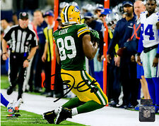 JARED COOK Signed GREEN BAY PACKERS Sideline Catch vs Cowboys 8x10 Photo - PBA