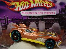 2014 Hot Wheels HOWLIN HEAT✰Copper/Yellow chrome Fang✰New LOOSE