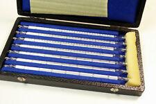 LABOR THERMOMETER SET  - 5 bis 350 °C   bestehend aus 7 St. mit Eichzeichen