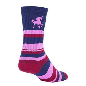 SockGuy Crew Pink Unicorn Sock: Pink SM/MD