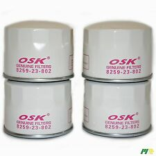 4 units OSK Oil Filter suit Z155 for Ford Econovan Isuzu V8 Diesel Mazda